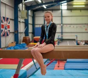 Chloe Johnston Schools Champ April 2015